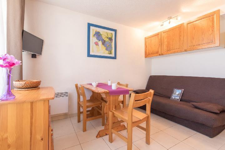 Location au ski Studio coin montagne 4 personnes (LOD16) - Residence Central Station - Montgenèvre