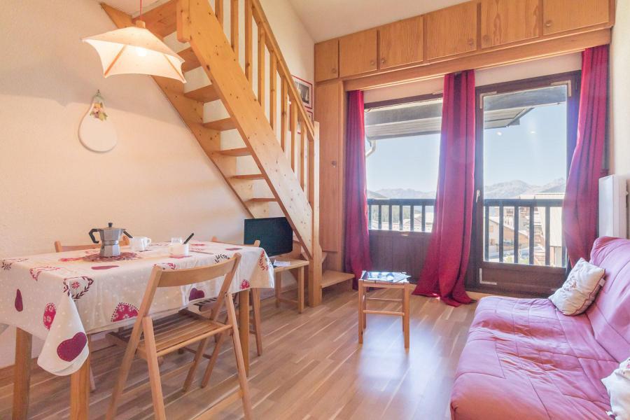 Soggiorno sugli sci Studio con alcova per 4 persone (GIOV25) - Résidence Central Station - Montgenèvre - Soggiorno