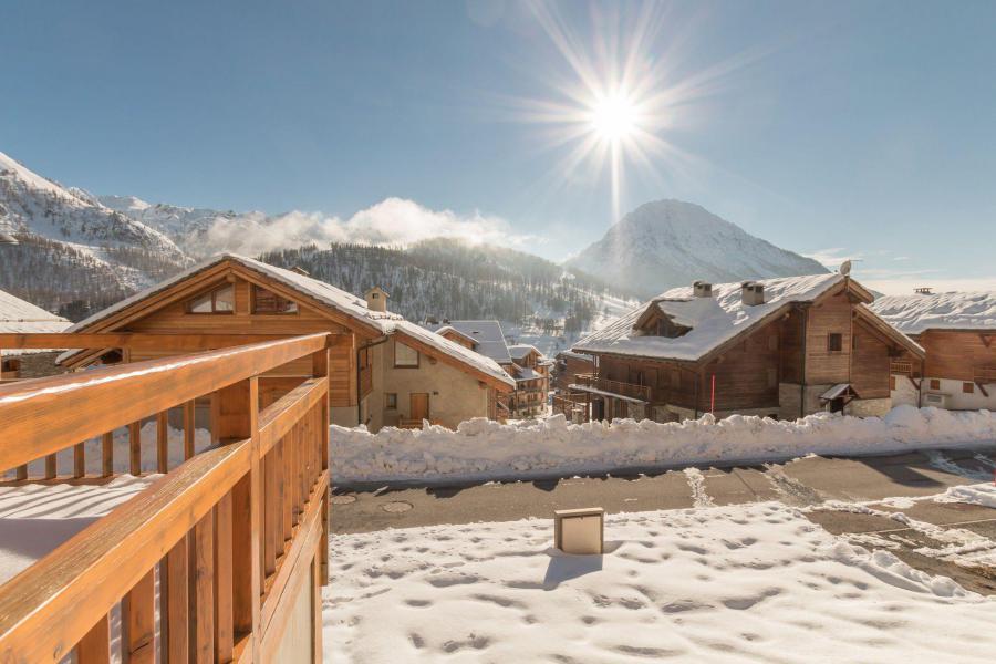 Vacaciones en montaña Apartamento 3 piezas para 4 personas (PA1001) - Résidence Chalet du Bois du Suffin K10 - Montgenèvre - Invierno