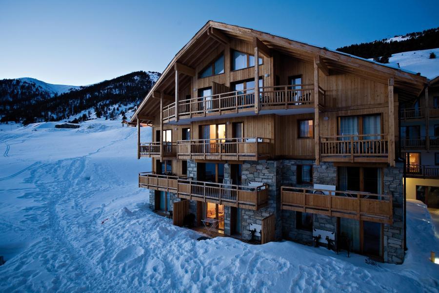 Location au ski Résidence Club MMV le Hameau des Airelles - Montgenèvre - Extérieur hiver