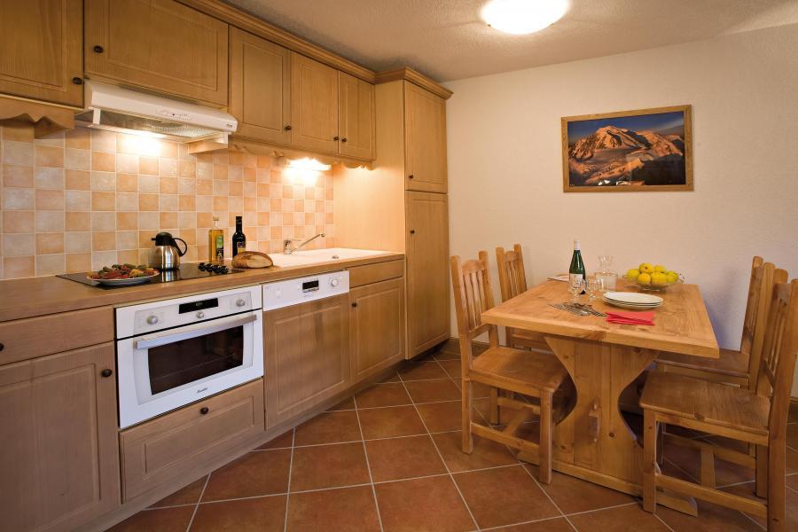 Soggiorno sugli sci Résidence Club MMV le Hameau des Airelles - Montgenèvre - Cucina aperta