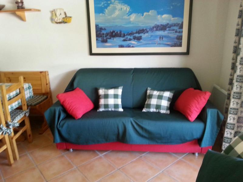 Location au ski Appartement 2 pièces coin nuit 6 personnes (MOR10) - Residence La Grange Du Berger - Montgenèvre - Canapé