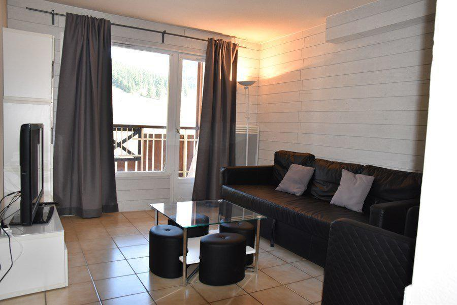 Rent in ski resort 4 room duplex apartment 8 people (205) - Résidence le Golf - Montgenèvre - Living room