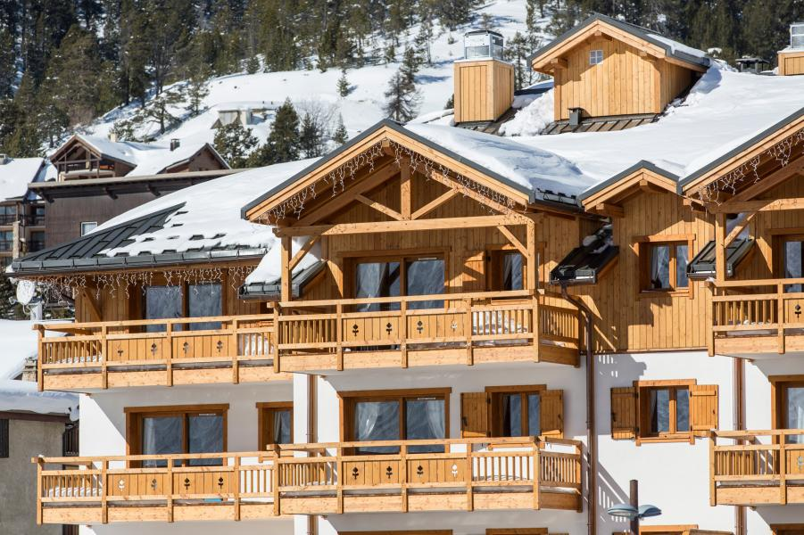 Urlaub in den Bergen Résidence le Napoléon - Montgenèvre - Draußen im Winter