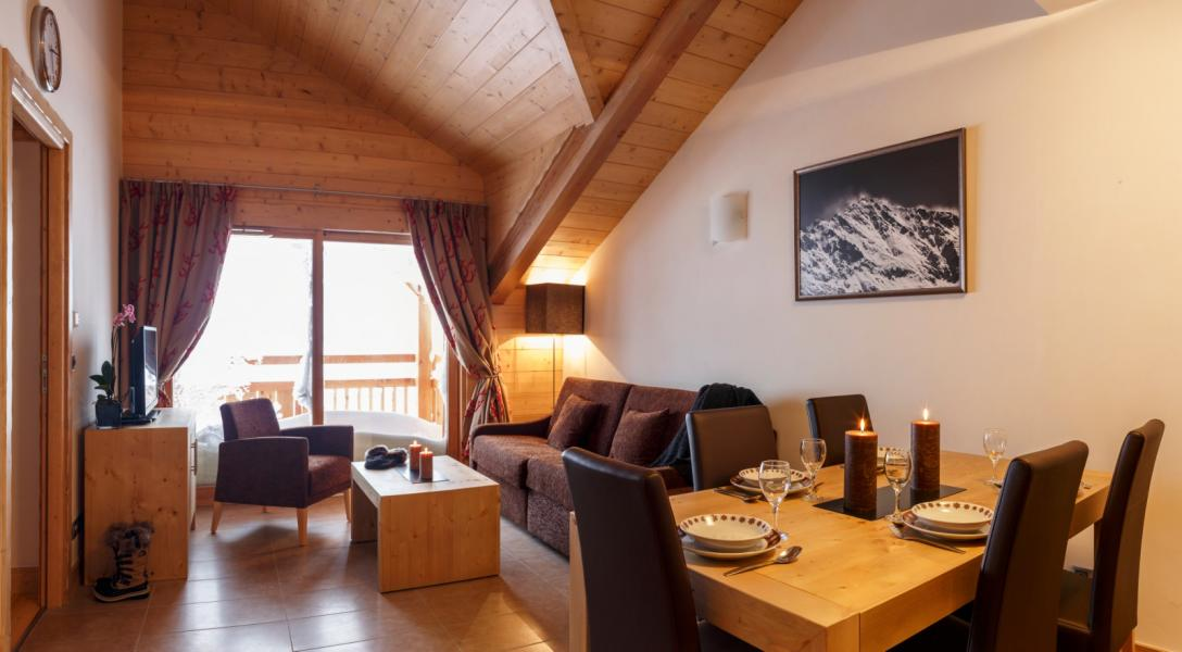 Location au ski Résidence le Napoléon - Montgenèvre - Séjour
