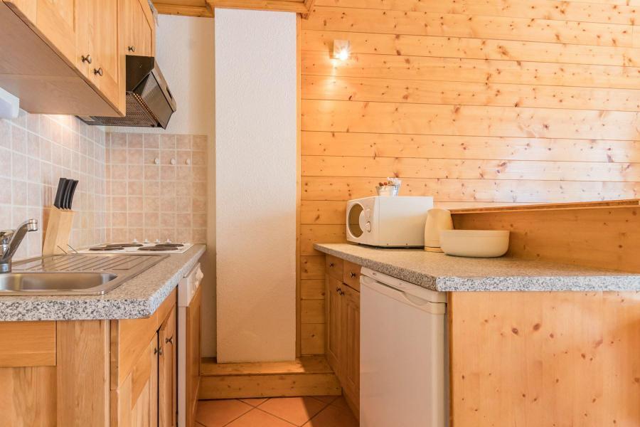 Аренда на лыжном курорте Квартира студия со спальней для 4 чел. (05) - Résidence les Alpets - Montgenèvre