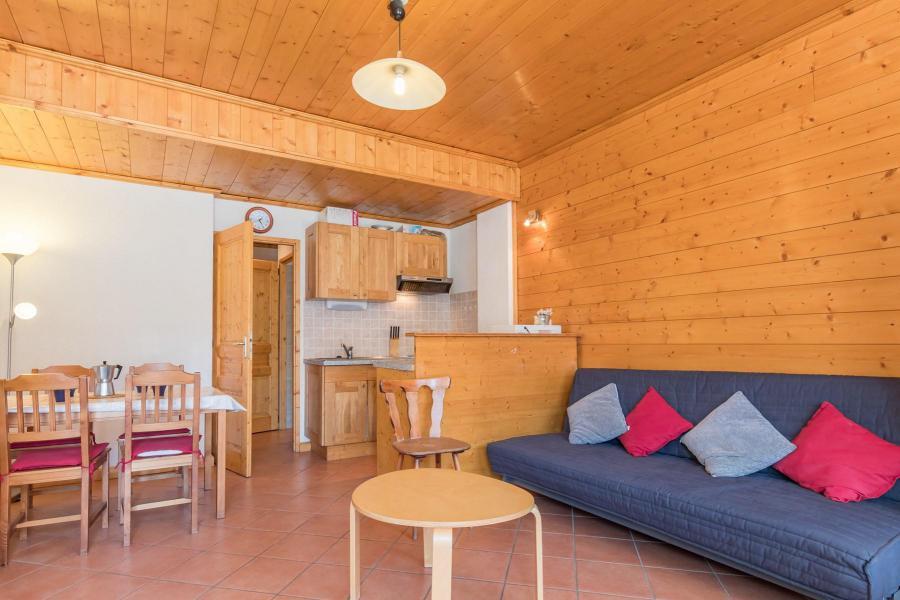 Аренда на лыжном курорте Квартира студия со спальней для 4 чел. (05) - Résidence les Alpets - Montgenèvre - Салон