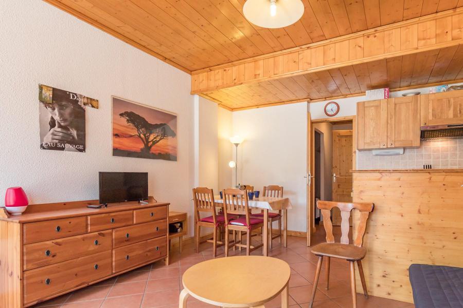 Аренда на лыжном курорте Квартира студия со спальней для 4 чел. (05) - Résidence les Alpets - Montgenèvre - Стол