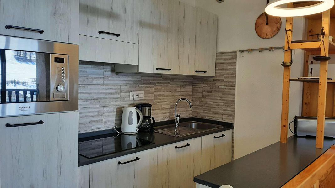 Location au ski Appartement 3 pièces 7 personnes (OTT10) - Residence Les Bardeaux - Montgenèvre - Cuisine