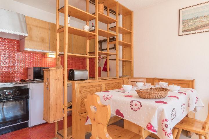 Location au ski Appartement 3 pièces 7 personnes (OTT10) - Residence Les Bardeaux - Montgenèvre - Table