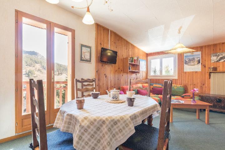 Location au ski Appartement 3 pièces 6 personnes (PAULIN) - Residence Les Melezes - Montgenèvre