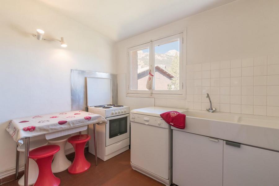 Аренда на лыжном курорте Апартаменты 2 комнат 6 чел. (MEDA) - Résidence les Mélèzes - Montgenèvre