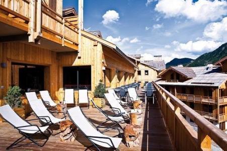 Location au ski Anova Hotel & Spa - Montgenèvre - Extérieur hiver