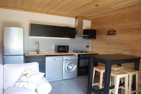 Rent in ski resort 2 room apartment sleeping corner 4 people (Cosy Mountain) - Chalet Loan - Montgenèvre - Living room