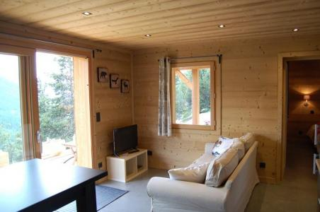 Rent in ski resort 2 room apartment sleeping corner 4 people (Cosy Mountain) - Chalet Loan - Montgenèvre - Settee