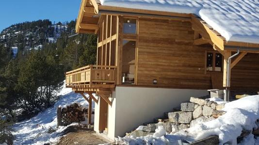 Rent in ski resort 2 room apartment sleeping corner 4 people (Cosy Mountain) - Chalet Loan - Montgenèvre - Winter outside