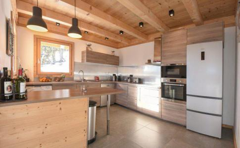 Rent in ski resort 5 room duplex chalet 10 people - Chalet Loan - Montgenèvre - Kitchen