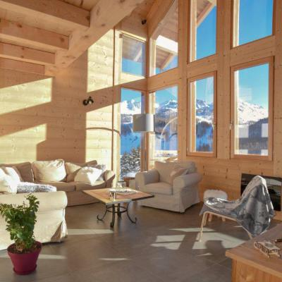 Rent in ski resort 5 room duplex chalet 10 people - Chalet Loan - Montgenèvre - Settee