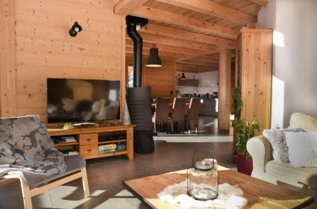 Rent in ski resort 5 room duplex chalet 10 people - Chalet Loan - Montgenèvre - TV