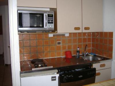 Location au ski Appartement 2 pièces coin montagne 6 personnes (VES104) - La Residence Ferme D'augustin - Montgenèvre - Kitchenette
