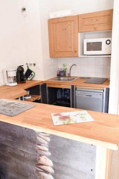 Rent in ski resort Studio cabin 5 people (NG11) - La Résidence Neige et Golf - Montgenèvre - Kitchenette
