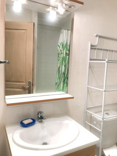 Rent in ski resort Studio cabin 5 people (NG11) - La Résidence Neige et Golf - Montgenèvre - Wash-hand basin