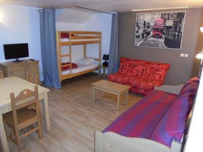 Rent in ski resort Studio sleeping corner 5 people (NG4) - La Résidence Neige et Golf - Montgenèvre - Living room
