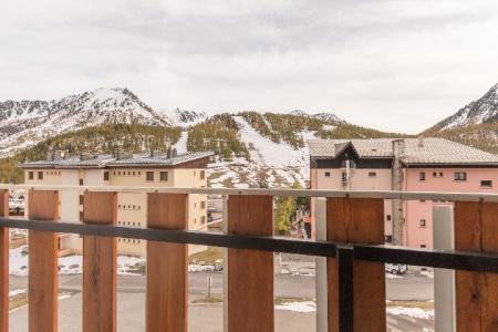Location au ski Studio coin montagne 5 personnes (DETAR2) - Residence Arzerier - Montgenèvre - Balcon
