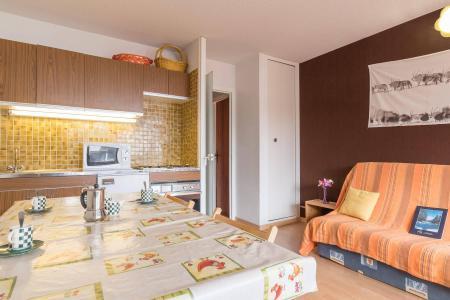 Location au ski Studio coin montagne 5 personnes (DETAR2) - Residence Arzerier - Montgenèvre - Table