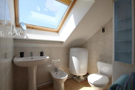 Rent in ski resort 2 room duplex apartment 5 people (RUFIN10) - Résidence La Grosse Pierre - Montgenèvre - WC