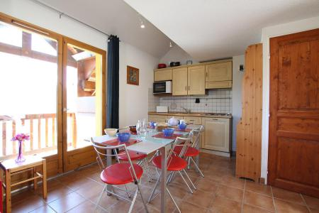 Rent in ski resort 2 room duplex apartment 5 people (RUFIN10) - Résidence La Grosse Pierre - Montgenèvre