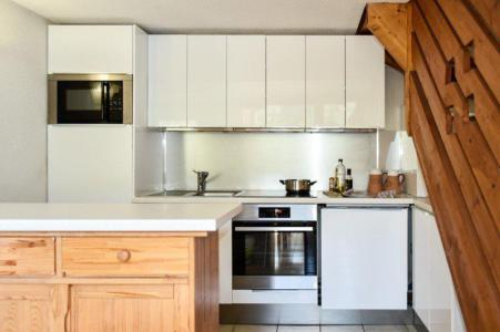 Rent in ski resort 4 room duplex apartment 8 people (205) - Résidence le Golf - Montgenèvre - Kitchenette