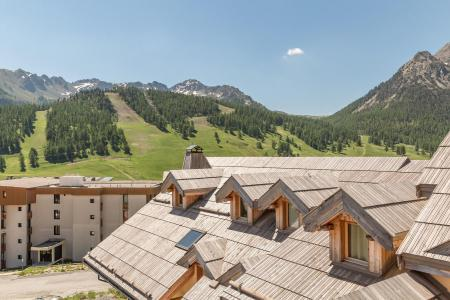 Rent in ski resort 4 room duplex apartment 8 people (CARB08) - Résidence le Loup Blanc - Montgenèvre
