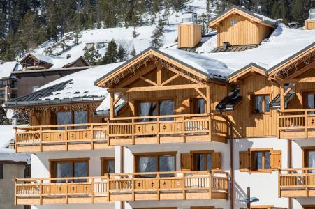 Location au ski Residence Le Napoleon - Montgenèvre - Extérieur hiver