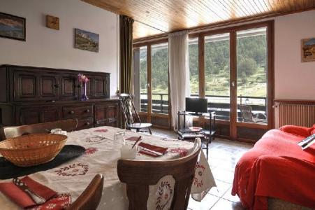 Location au ski Studio coin nuit 4 personnes (PERRY) - Residence Le Transalpin - Montgenèvre - Séjour