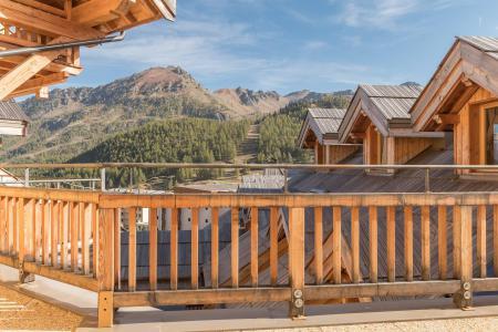 Аренда на лыжном курорте Квартира студия со спальней для 5 чел. (453) - Résidence les Toits Blancs - Montgenèvre