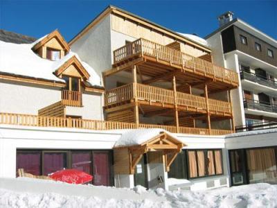 Location au ski Residence Neige Et Golf - Montgenèvre - Extérieur hiver