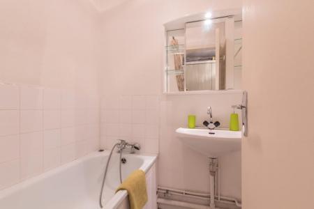 Location au ski Studio 4 personnes (439) - Residence Olympia 2000 - Montgenèvre - Salle de bains