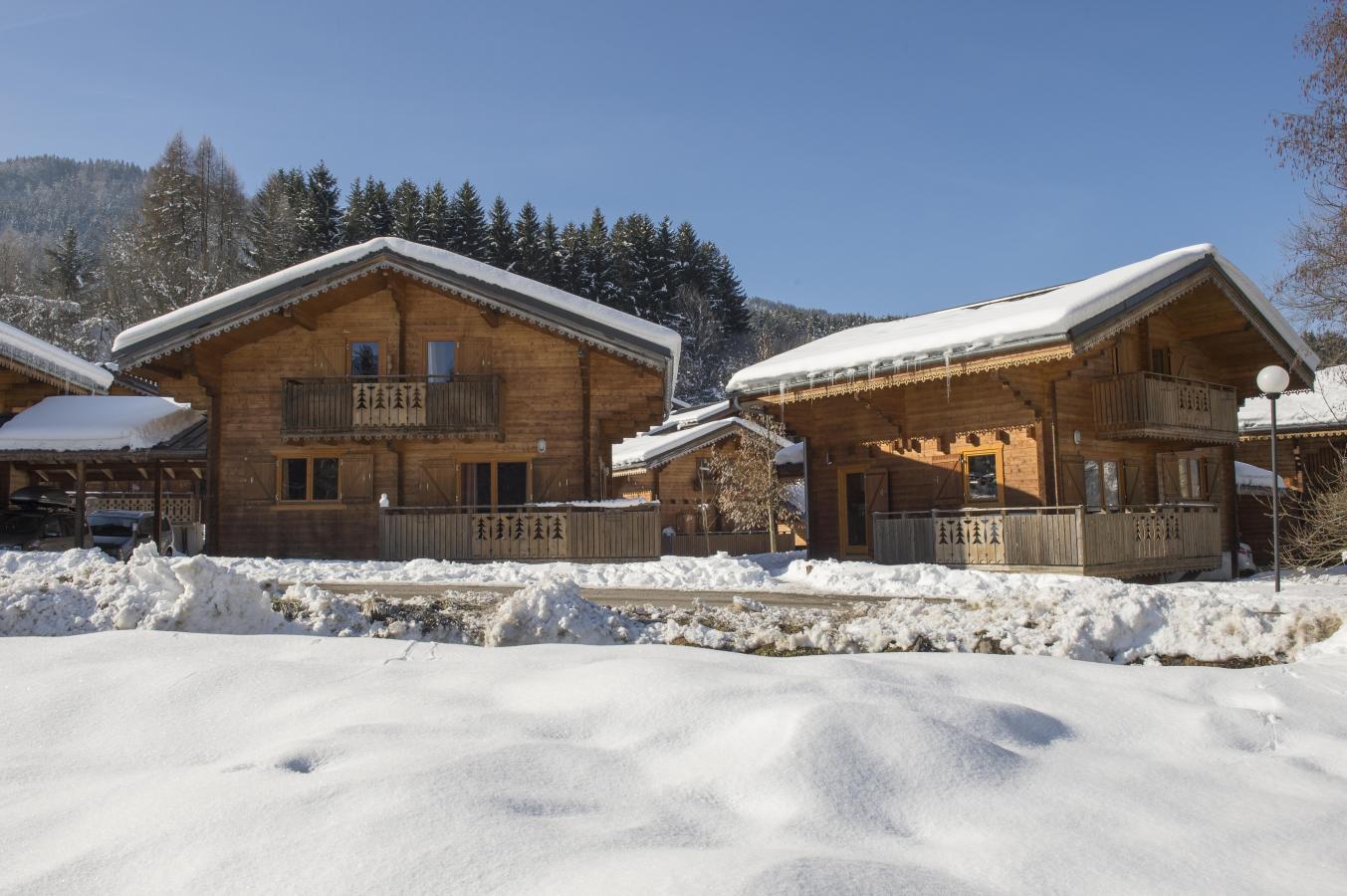 Les Chalets Du Bois De Champelle - Station de ski Morillon Alpes du Nord Haute Savoie Réservation