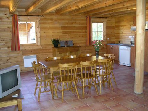 Location au ski Chalet duplex 4 pièces 8 personnes - Les Chalets Du Bois De Champelle - Morillon - Salle à manger