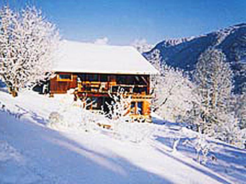 Location au ski Chalet Grand Massif - Morillon - Extérieur hiver