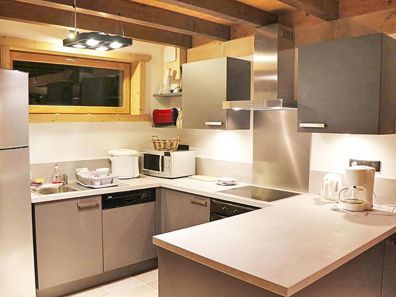 Аренда на лыжном курорте Chalet Haute-Savoie - Morillon - Кухня