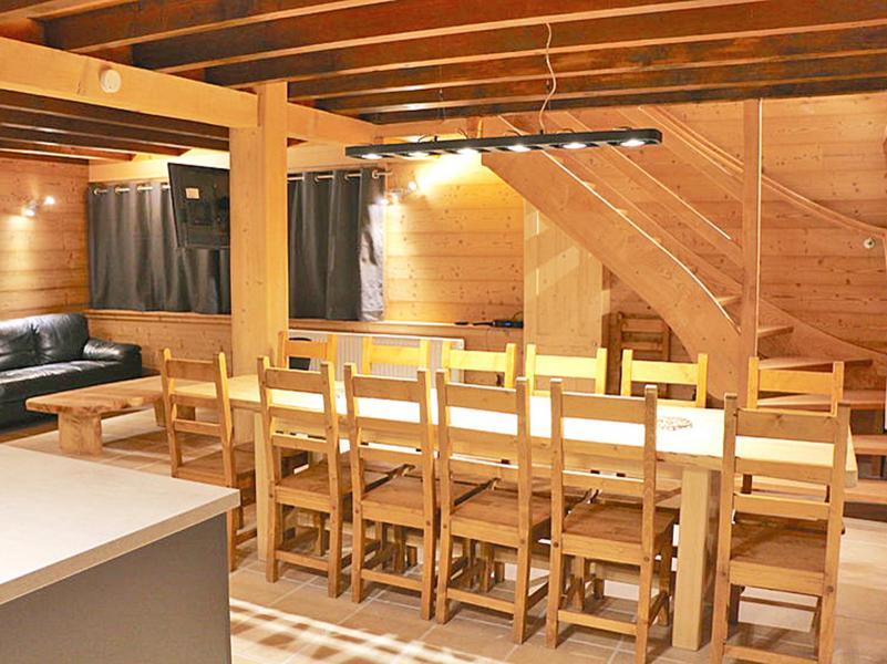 Location au ski Chalet Haute-Savoie - Morillon - Salle à manger