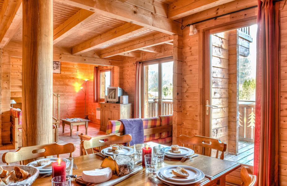Location au ski Les Chalets du Bois de Champelle - Morillon - Séjour