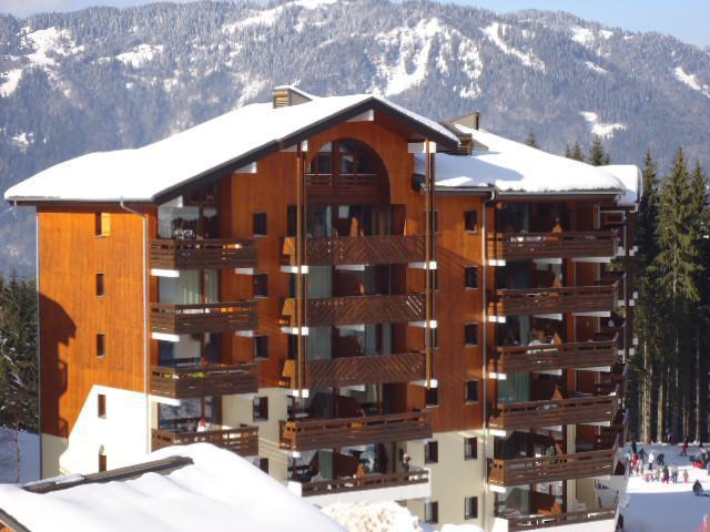 Аренда на лыжном курорте Résidence Gelinotte - Morillon - зимой под открытым небом