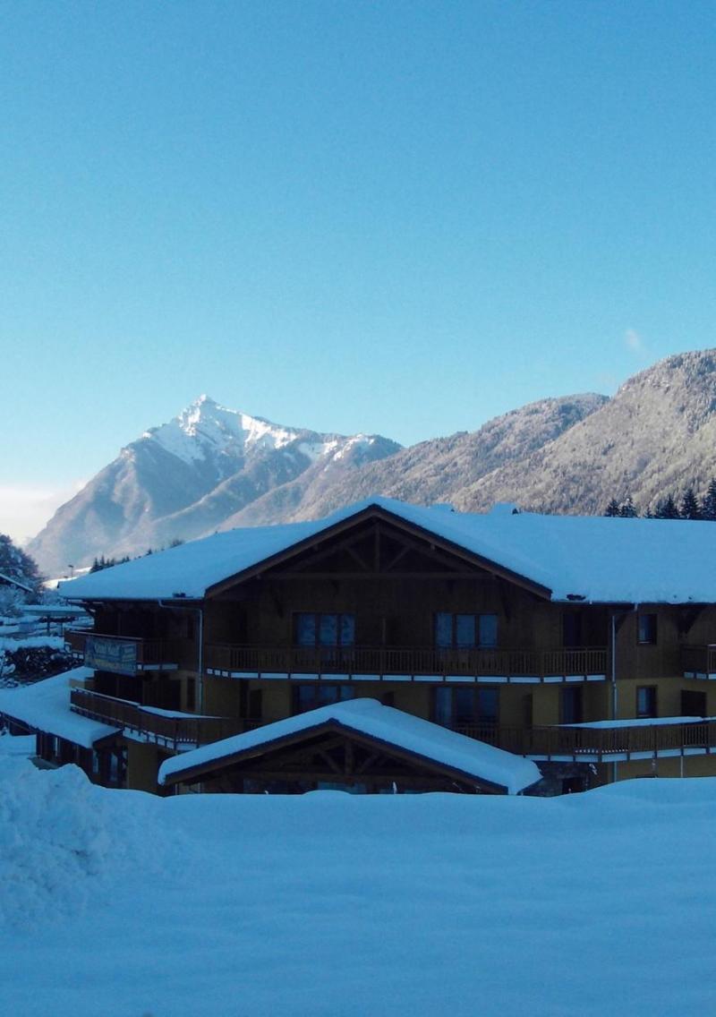Vacances en montagne Résidence Grand Massif - Morillon - Extérieur hiver