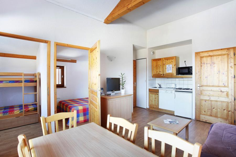 Location au ski Résidence le Buet - Morillon - Cuisine ouverte