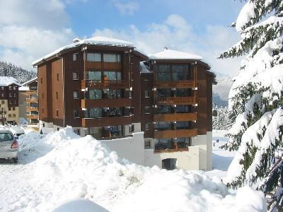 Аренда на лыжном курорте Résidence les Hauts des Esserts - Morillon - зимой под открытым небом