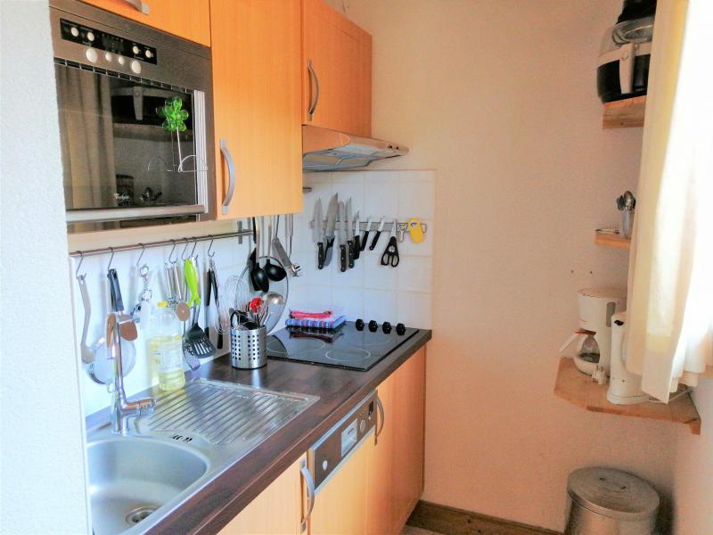 Аренда на лыжном курорте Апартаменты 3 комнат 6 чел. (JABB06) - Résidence les Jardins Alpins - Morillon - Кухня