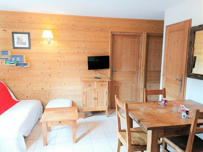 Аренда на лыжном курорте Апартаменты 3 комнат 6 чел. (JABB06) - Résidence les Jardins Alpins - Morillon - Салон